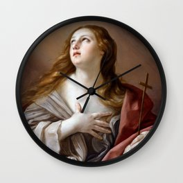 The Penitent Magdalene Wall Clock