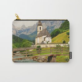 Germany Photography - Bridge In Ramsau Bei Berchtesgaden Carry-All Pouch
