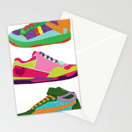 My Kicks Stationery Cards