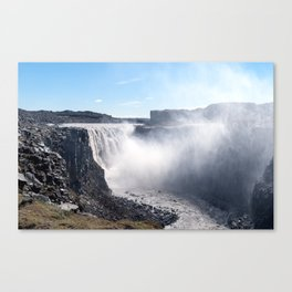 Dettifoss Waterfall in Iceland Canvas Print