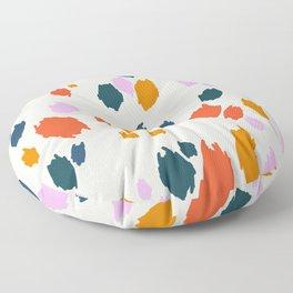 Rainbow Animal Print  Floor Pillow