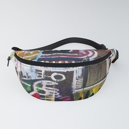 Basquiat Person Fanny Pack