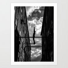 Hanging Man Art Print