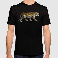 Tiger SMALL Black Mens Fitted Tee