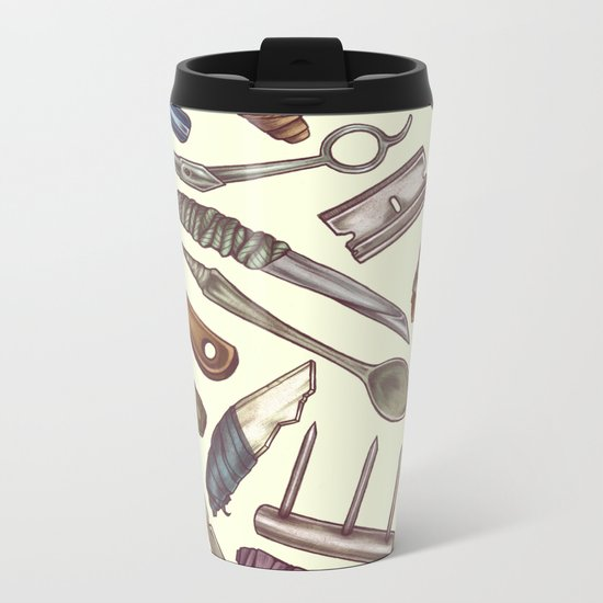 Shanks & Shivs Metal Travel Mug