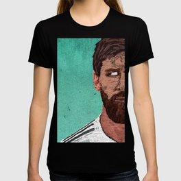 Leonel Messi Portrait T-shirt