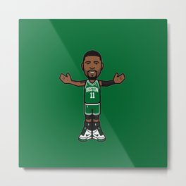 KyrieIrving Icon Metal Print