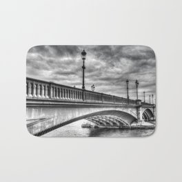 Battersea Bridge london Bath Mat