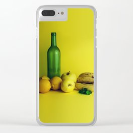 Lemon lime - still life Clear iPhone Case