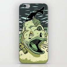 Something Fishy this way Comes iPhone & iPod Skin