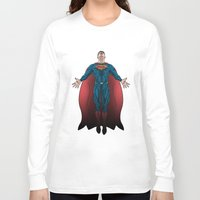 superheros Long Sleeve T-shirts featuring FALSE GOD. by KODYMASON