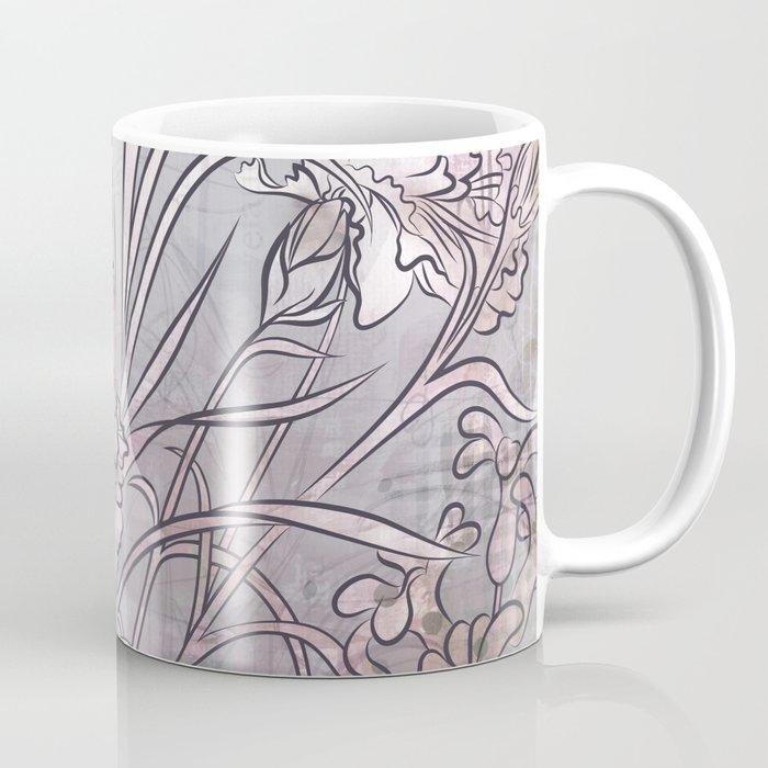 Carnation Creation- neutrals Coffee Mug