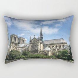 Paris, France - Notre Dame Rectangular Pillow