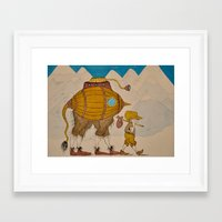 journey Framed Art Prints featuring Journey by Liz Hermanson