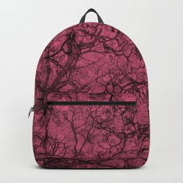 Blush Pink Hunting Camo Pattern Backpack
