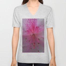 pink bloom Unisex V-Neck