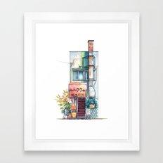 Tokyo storefront #09 Framed Art Print