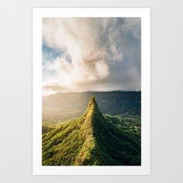 Peak Experience Art Print