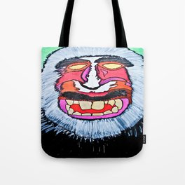 macaques monkey Tote Bag