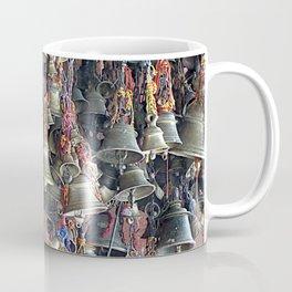 Colorful Indian Hanging Prayer Bells, India Coffee Mug