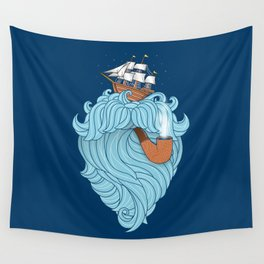 Skilled Sailor Wall Tapestry