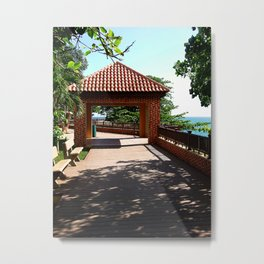 Near the old lighthouse @ Rincon Metal Print
