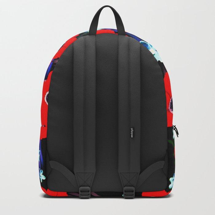 Poppies & Columbines Backpack