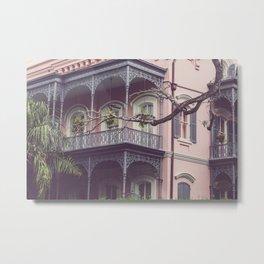 Uptown New Orleans Metal Print