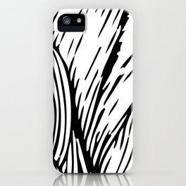 woodcut iPhone Case