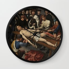 The Judgment of Cambyses Wall Clock
