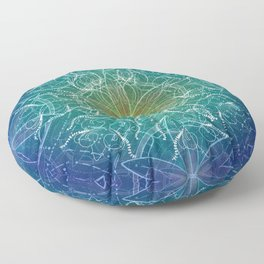 Pure Growth Mandala Floor Pillow