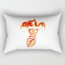 Fiery Water Faery Rectangular Pillow