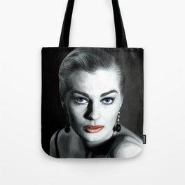 Anita Ekberg Large Size Portrait Tote Bag