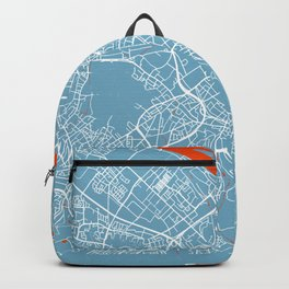 Bonn Map | Germany | Cloud | More Colors Backpack