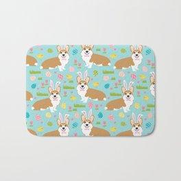 Welsh Corgi easter cute costume easter bunny corgis spring dog gifts Bath Mat