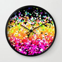 Mosaic Sparkley Texture G225 Wall Clock
