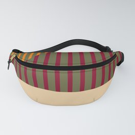 Geometric Abstract - Spring-Pantone Warm color Fanny Pack