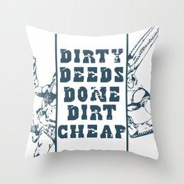 D4C Throw Pillow