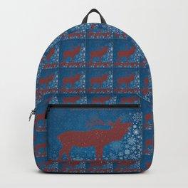 SEASONAL GREETINGS From Colorado Elk ARTWORK Backpack