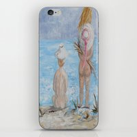 hats iPhone & iPod Skins featuring Hats by EloiseArt