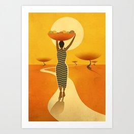 Africa - 1 Art Print