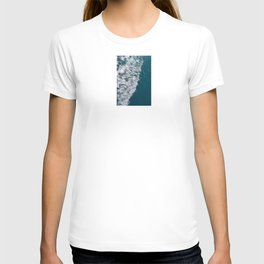 Sea wave with white foam T-shirt