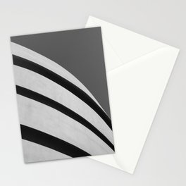 Blank Space | Modern Black and White Architecture Photography of New York City Stationery Cards