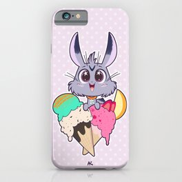 Bunnies - Icecream iPhone Case