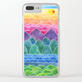 The Happy Place Enchanted Land Clear iPhone Case