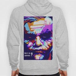 Heath Ledger print,Heath Ledger poster,Heath Ledger INSPIRED print, The Joker decor, The Joker, Pop Hoody