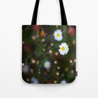 confetti Tote Bags featuring Confetti by The Botanist's Daughter