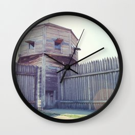 Fort Vancouver Wall Clock