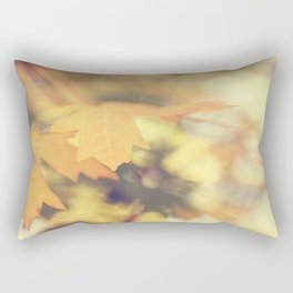 Autumns Yellow Rectangular Pillow