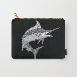 HANDRAWN MARLIN Carry-All Pouch